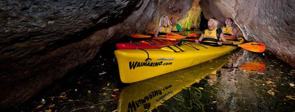 kayak tours rotorua